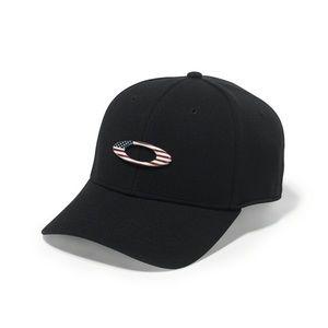 Oakley | Black USA Fitted Tincan Cap